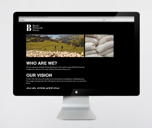 Banks Peninsula Farms designed by Strategy