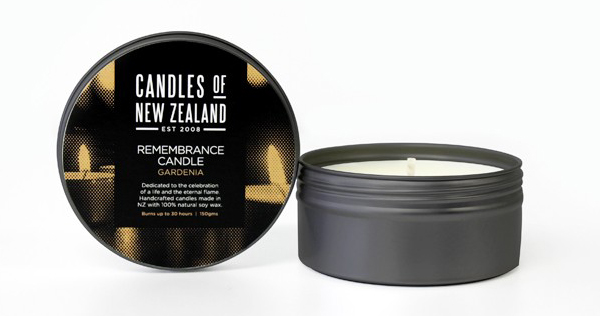 Candles of New Zealand designed by Family Design Co