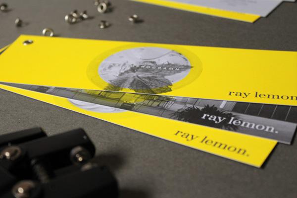 Ray Lemon designed by Leib und Seele