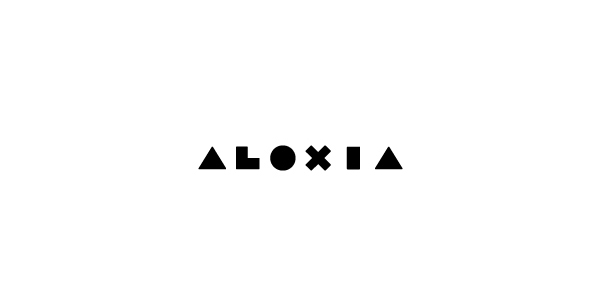 Aloxia identity designed by Richard Baird