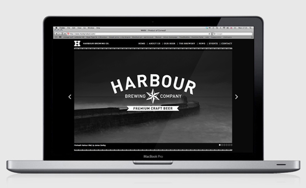 Harbour Brewing Co. designed by A-Side Studio