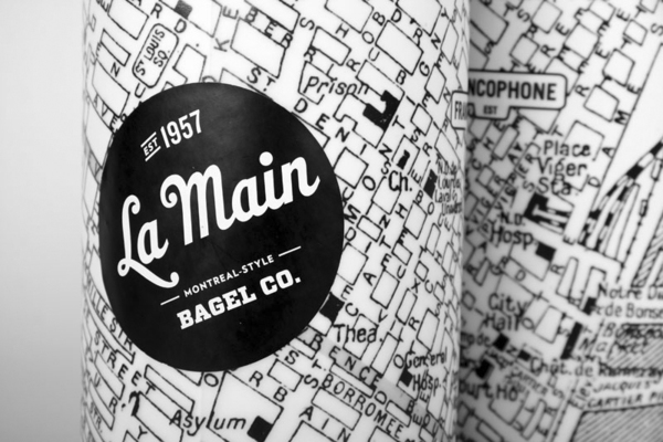 La Main Bagel Co. designed by Ugo Varin