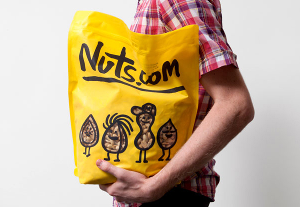 Nuts.com designed by Pentagram