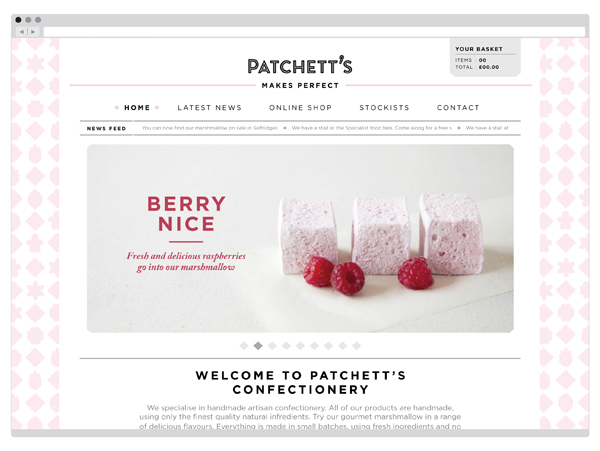Patchett's designed by Designers Anonymous