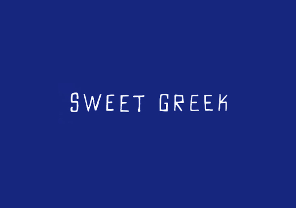 Sweet Greek designed by Studio Brave