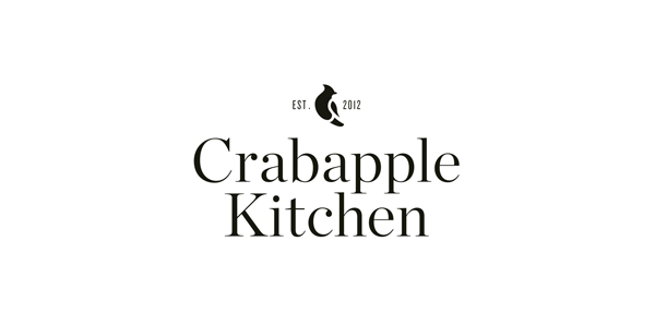 Crabapple Kitchen designed by Swear Words